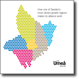Folder about the Umeå region